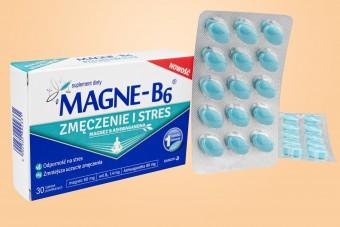 Magne B6 Zmęczenie i Stres, 30 tabletek, magnez i ashwaganda, ashwaganda na stres,