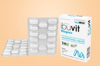 Ibuvit Magnez, magnez tabletki o przedłużonym uwalnianiu