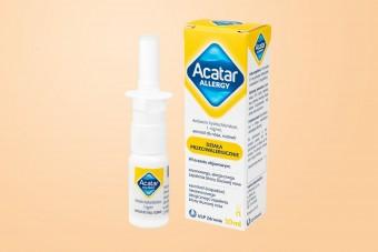Acatar Allergy, aerozol do nosa, 10 ml, katar alergiczny, azelastyna bez recepty do nosa