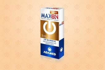 Maxon Forte, lek na erekcję bez recepty, 2 tabletki, sildenafil 50 mg