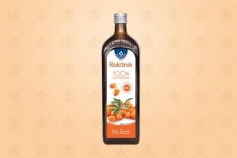 Rokitnik sok, 100% sok z rokitnika Oleofarm, 500 ml, sok z rokitnika bez konserwantów