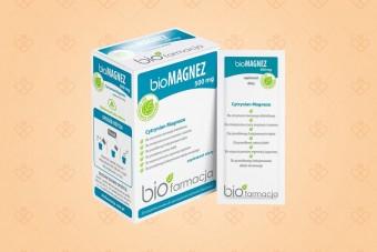 bioMagnez 500 mg, 20 saszetek, Biofarmacja, magnez w proszku