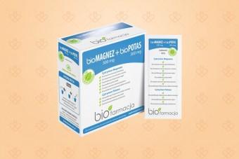 bioMagnez 300 mg + bioPotas 300 mg, magnez z potasem w proszku, Biofarmacja