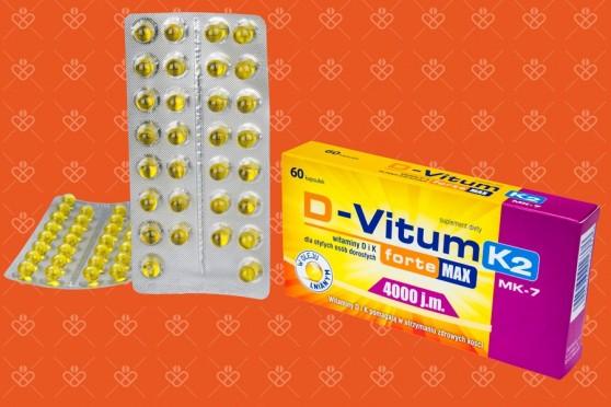d-vitum forte max 4000 k2 60 kapsułek oleofarm