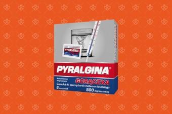 Pyralgina Gorączka 500 mg, 6 saszetek, pyralgina sprint w saszetkach