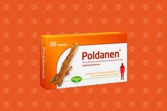 Poldanen, lek na prostatę, śliwa afrykańska, 30 tabletek