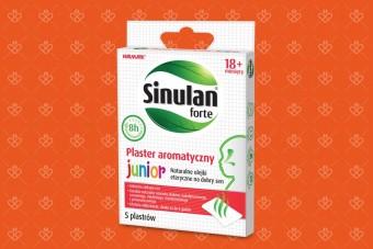 Sinulan Forte Plastry aromatyczne Junior, 5 sztuk, od 18. miesiąca życia