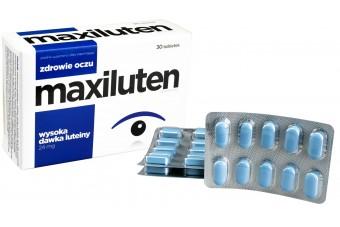 Maxiluten, 30 tabletek, suplement diety wspierający funkcjonowanie wzroku