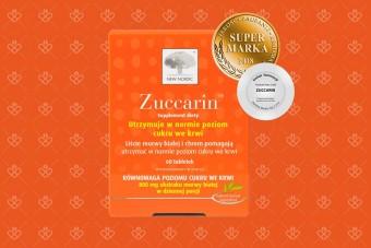 Zuccarin duże opakowanie, 120 tabletek, morwa biała i chrom