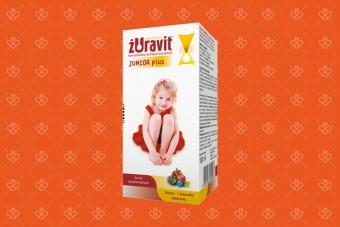 Żuravit Junior Plus, żurawina dla dzieci, 100 ml, Polpharma