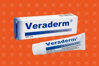 Veraderrm, żel silikonowy na blizny, 14 g, żel na blizny dla dzieci i dorosłych