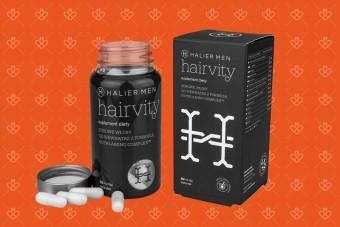 Hairvity Men, tabletki na włosy dla mężczyzn, przeciw wypadaniu włosów, kapsułki