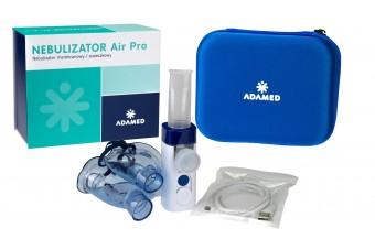 Air Pro, inhalator membranowy/siateczkowy firmy Adamed, cichy i wygodny w stosowaniu