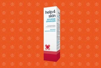 Help4Skin Gojenie oparzeń, spray na oparzenia, 75 g, żel na oparzenia