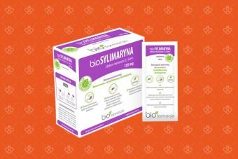 bioSylimaryna 105 mg, na wątrobę, 28 saszetek, Biofarmacja