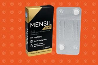 Tabletki na zaburzenia erekcji Mensil Max, najlepszy lek na potencję bez recepty, viagra