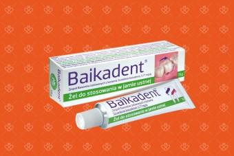 Baikadent żel do jamy ustnej w chorobach przyzębia, 15 g