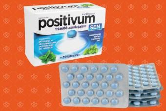 Positivum SEN, positivum z melatoniną, 180 tabletek