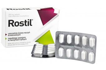 Rostil 250 mg, 30 tabletek