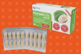 Morwa Biała Max, 60 tabletek, morwa biała standaryzowana