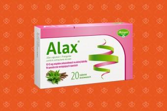 Alax na zaparcia, 20 tabletek, alaks, aloes i kruszyna - tabletki na przeczyszczenie