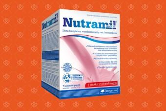 Nutramil Complex, truskawkowy, 7 saszetek, 300 kcal, Olimp