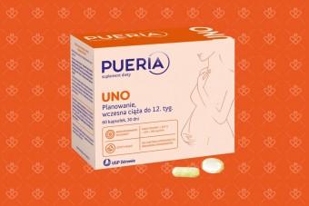 Pueria UNO, tabletki dla ciężarnych i planujących ciążę