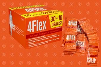 4 Flex saszetki 30+10 gratis, forflex na stawy