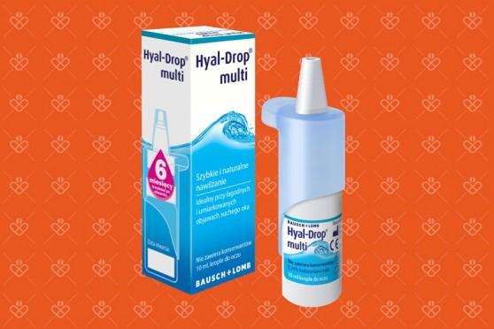 Hyal Drop Multi, dobre krople na zespół suchego oka, 10 ml