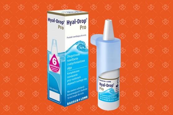 Krople mocno nawilżające do oczu Hyal Drop Pro