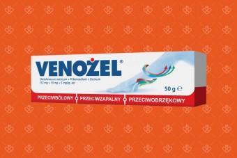 Venożel, żel przeciwbólowy i przeciwobrzękowy, 50 g
