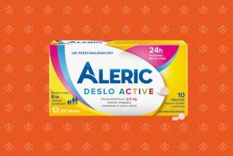 Aleric Deslo, tabletki dla dzieci na alergię do ssania