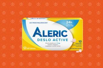 Lek na alergię Aleric dla dorosłych bez recepty
