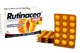 Rutinacea max D3 ,60 tabletek