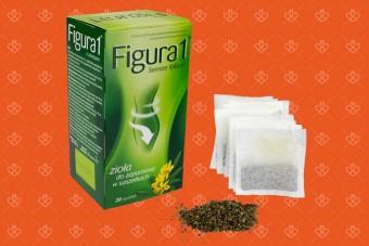 Figura 1, herbata na zaparcia z senesem Figura zioła