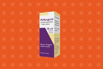 Polfungicid płyn, (50 mg + 10 mg)/ml, grzybica paznokci i skóry, 10 ml