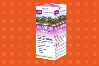 Syrop ISLANDZKI medic +, z porostem islandzkim, 125 ml