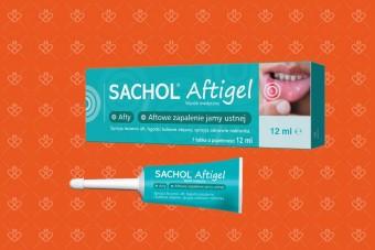 Sachol Aftigel, żel na afty, 12 ml