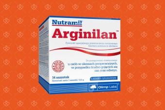 Arginilan, 14 saszetek – rany i odleżyny