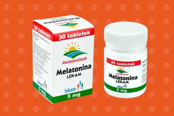 Melatonina Lekam 5 mg na spanie