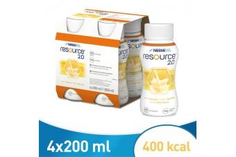 Resource 2.0, smak waniliowy, preparat odżywczy zamiennik nutridrink