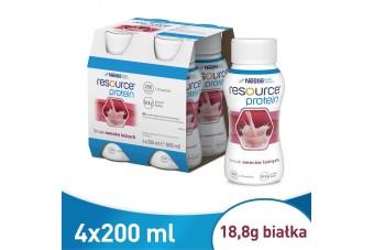 Resource Protein, smak owoców leśnych, preparaty odżywcze w chorobie i przy niedożywieniu, 200 ml