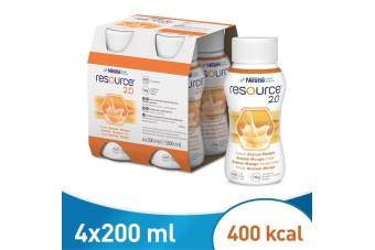 Resource 2.0, ananas-mango, 200 ml x 4 butelki