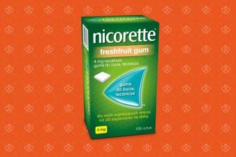 Nicorette freshfruit gum 4 mg 105 sztuk