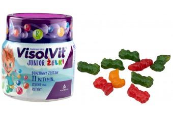 Visolvit Junior, żelki witaminowe dla dzieci, 50 sztuk