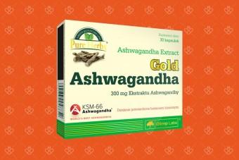 Olimp Ashwagandha, na stres i dobry na strój, ashwagndha w tabletkach