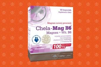 Olimp Chela Magnez duże opakowanie