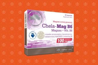 Olimp Chela Mag B6, chelat magnezu o dobrej biodostępności