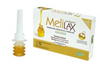 Melilax Pediatric, wyrób medyczny na zaparcia z miodem dla dzieci, 6 mikrowlewek doodbytniczych
