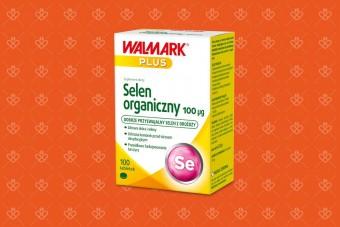 Selen organiczny 100 mcg, Walmark, 100 tabletek